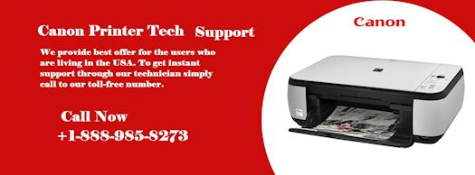 Canon Printer Tech Support +1-888-985-8273
