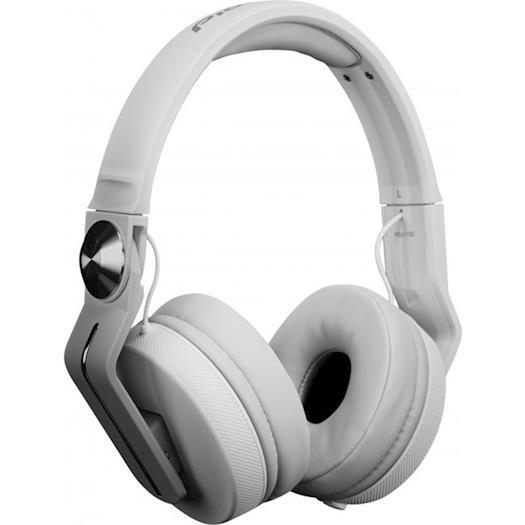 Pioneer DJ HDJ-700-W Closed Back DJ Headphones - White