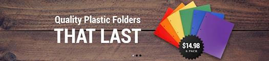 Plastic Folders - Heavy Duty Plastic Folders - STEMSFX Productivity
