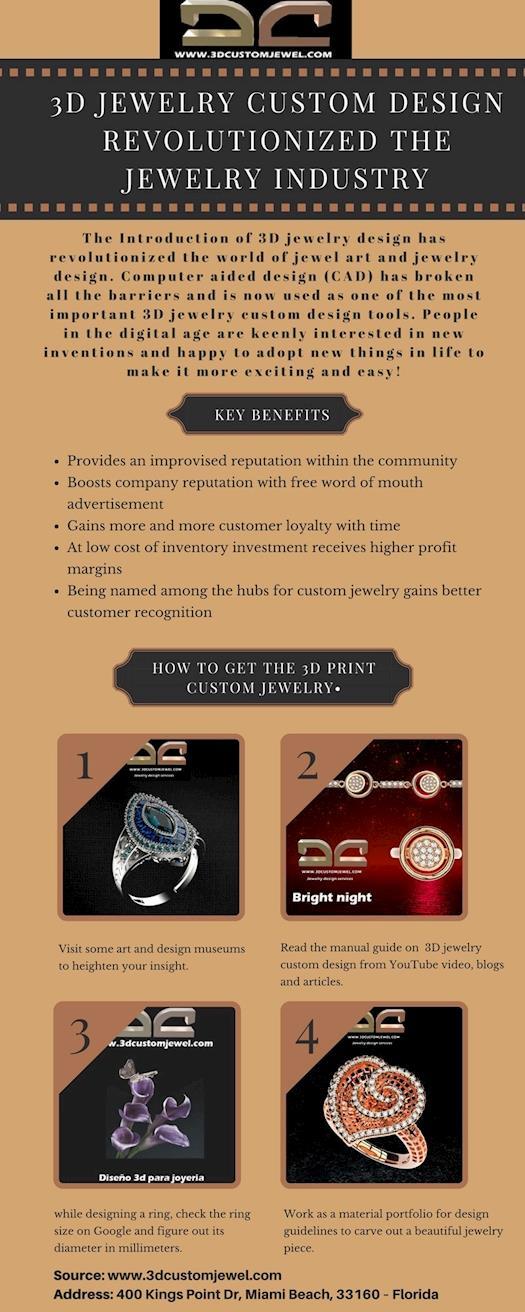3d Jewelry Custom Design | 3d Custom Jewel