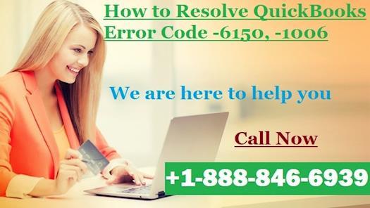 Support For QuickBooks Error Code -6150, -1006