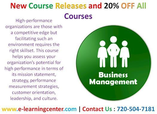 Advanced Management Techniques - Online Training