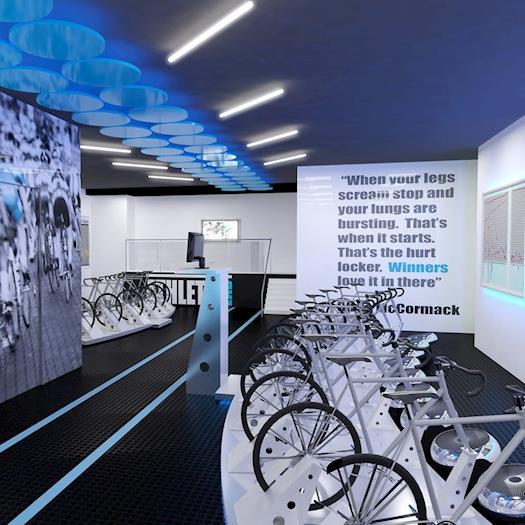 Spa & Fitness Health Centre Interior Design