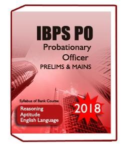 Best Books For IBPS PO Probationary Officer Exam2018
