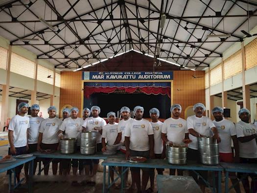Akshaya Patra volunteer team