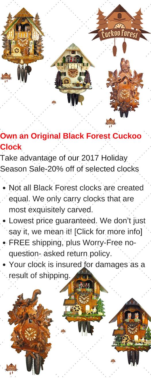 Coo Coo Clocks For Sale