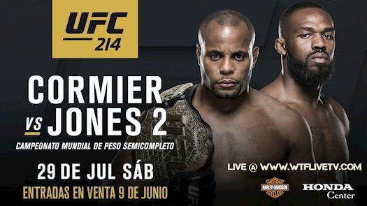 UFC 214 Poster