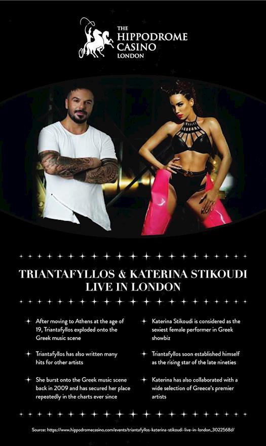 Triantafyllos & Katerina Stikoudi LIVE in London