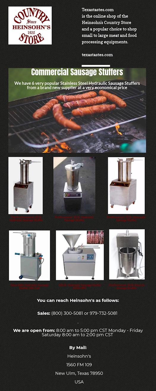 Get Best Deals on Sausage Stuffer Machine