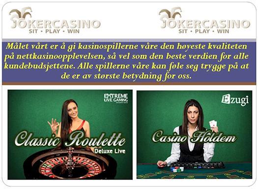 casinospill, kasino bonuser, direkte kasino, mobilkasino