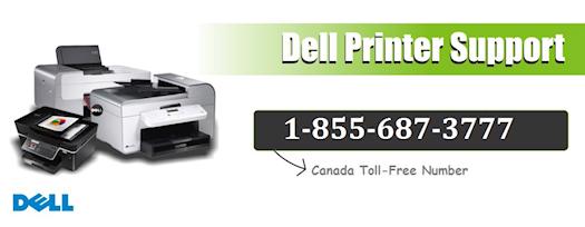 Dell Printer Support Canada 1-855-687-3777