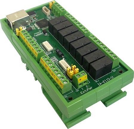 IA-2115-U USB Relay Control | Online-devices