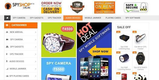 Buy Spy Gadgets, Spy Camera in delhi, Hidden Camera Shopping online in Delhi India