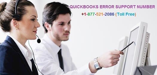 Quickbooks error support  number +1-877-521-2086