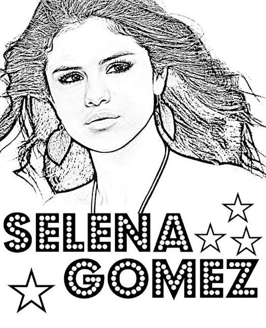 Selena Gomes printable