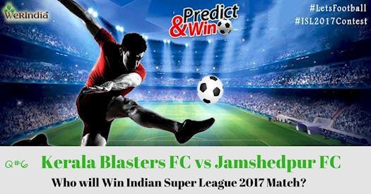 Indian Super League 2017 Match Number 6 Question