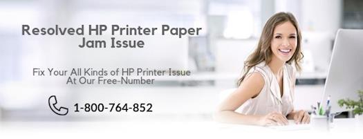 Fix HP Printer Paper Jam Issue