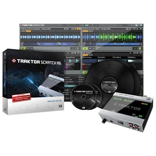 Native Instruments Traktor Scratch A6 DVS DJ Software