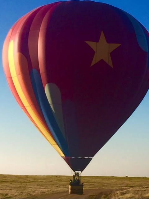 Hot Air Balloon Ride Northern CA