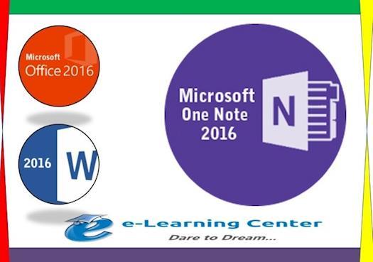 Beginning Microsoft  OneNote 2016  - Online Certification