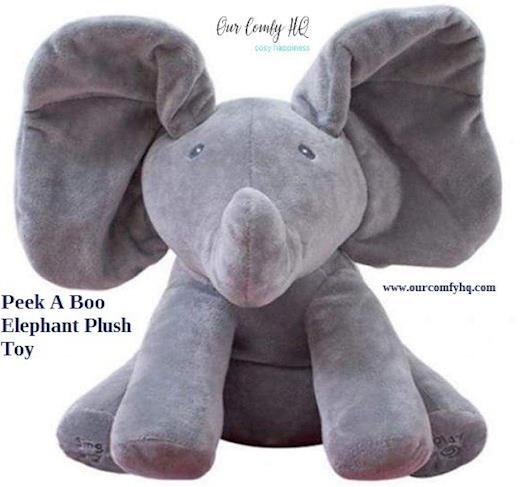Buy Peek A Boo Elephant Plush Toy