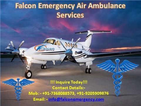 Save Life by Air Ambulance Service in Chennai and Bangalore