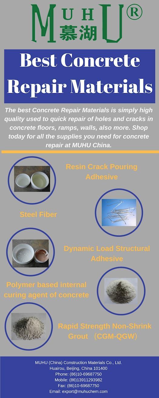 Best Concrete Repair Materials