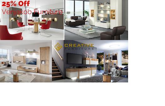 Save 25% OFF On Modern Venjakob Furniture
