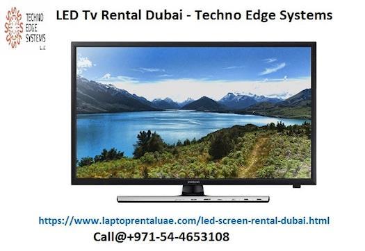 LED TV Rental Dubai - Techno Edge Systems