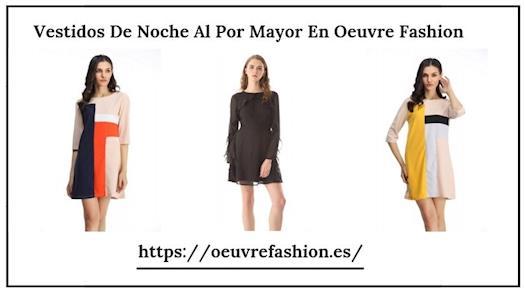 Vestidos De Noche Al Por Mayor En Oeuvre Fashion