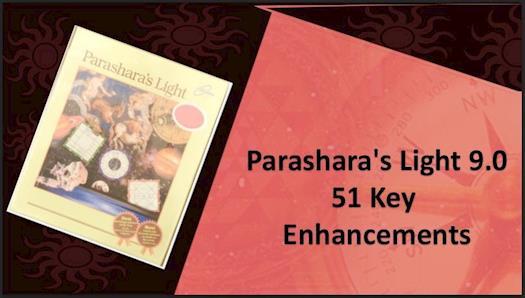 51 Major Enhancements in Parashara's Light 9.0