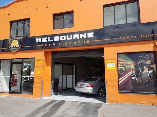 Melbourne Repair Centre shop front