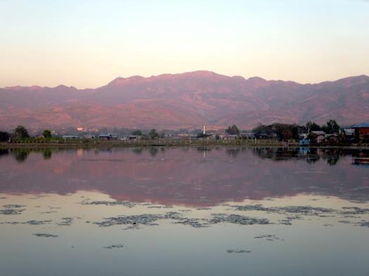 Thazi Pond Sunset