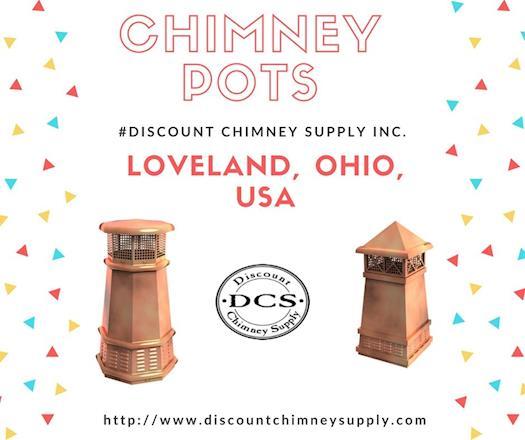 Buy Chimney Pots at reasonable price from Discount Chimney Supply Inc.,Loveland, USA
