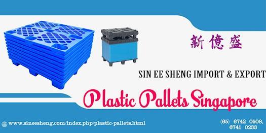 Plastic Pallets Singapore.