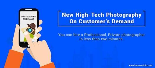 New High-Tech Photography- On Customer's Demand