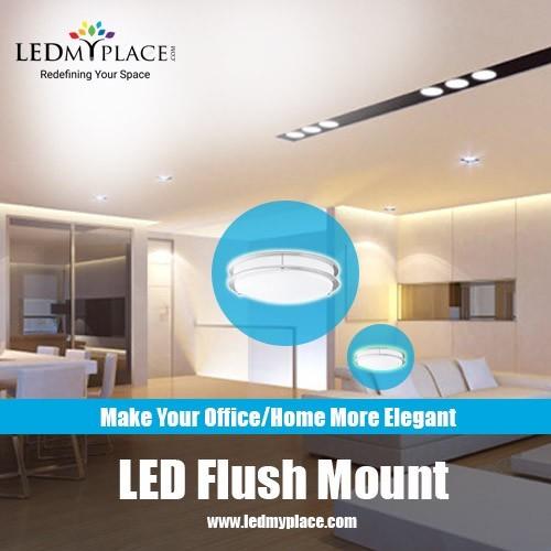 Flush Mount LED Ceiling Light