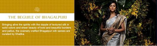 Buy Indian Bhagalpuri Sarees Online
