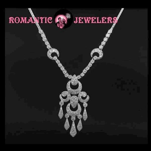 Attractive Victorian Diamond Necklace