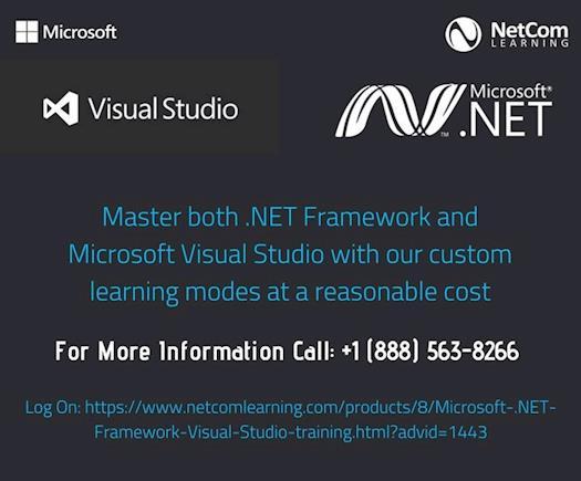 Master .NET framework and Visual Studio to develop applications effortlessly.