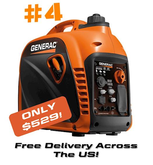 Generac 7117 | GP2200i Inverter Generator - Free Shipping US