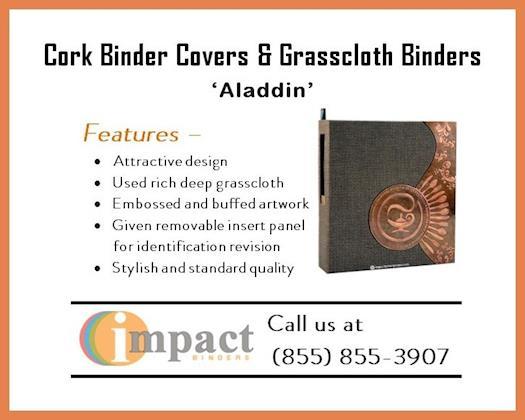 Best Cork Binders Covers & Grasscloth Binders By Impact Binders