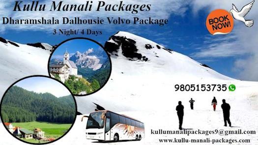 Dharamshala Dalhousie Volvo Package