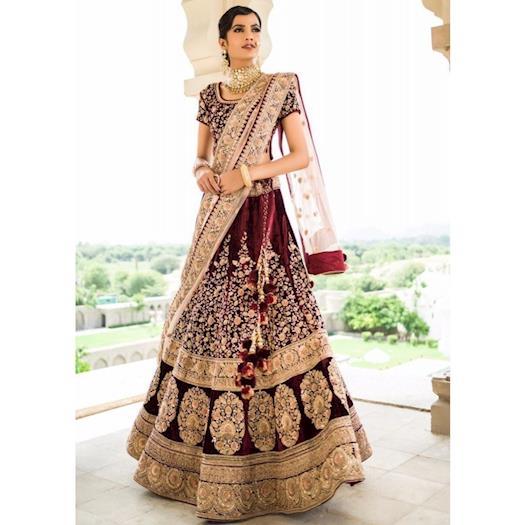 Designer Bridal Lehenga Choli i.e. every Bride's top choice in 2019!