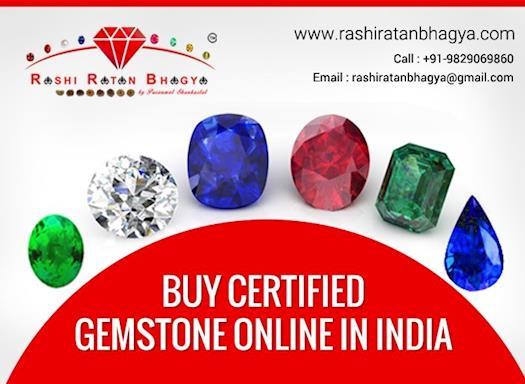 Buy Certified Gemstones from Rashi Ratan Bhagya