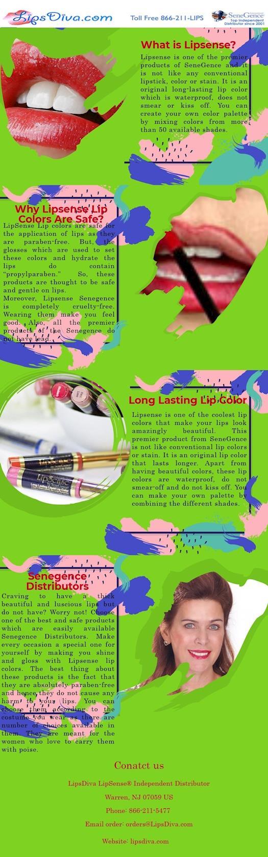 A Quick Overview : Lipsense Lip Colors