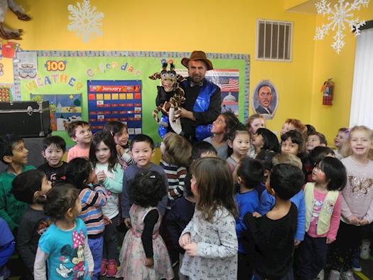 Preschool Puppet Show
