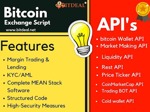 Bitcoin Exchange Source Code and API