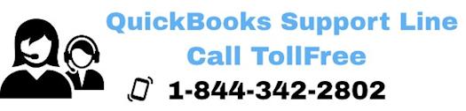 QuickBooks Support Line | 1-844-342-2802