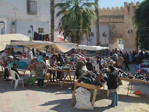 Bab El Kasbah Market